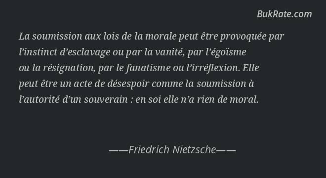 Friedrich Nietzsche Quotes on Loi - BukRate
